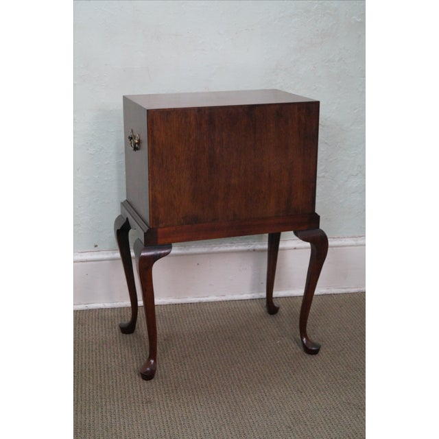 Hickory Chair Mahogany Queen Anne Silver Chest - Image 4 of 10