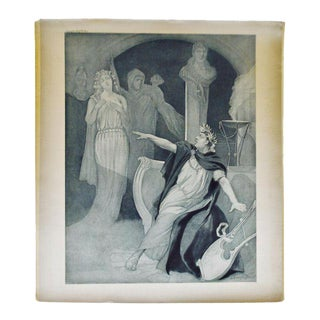 1900 Photogravure of J Steeple Davis' Neron Opera Painting