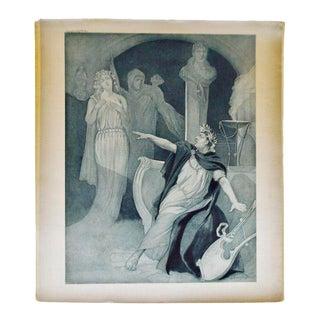 1900 Photogravure of J Steeple Davis' Neron Opera Painting