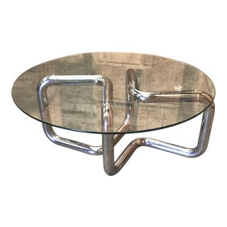 Vintage Modern Sculptural Coffee Table
