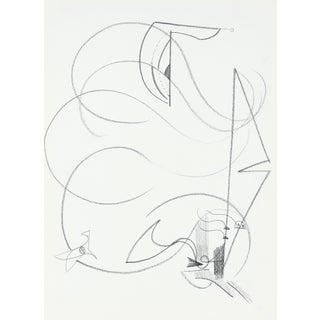 Michael di Cosola Charcoal Abstract Drawing