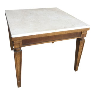 Lane Marble Top Side Table