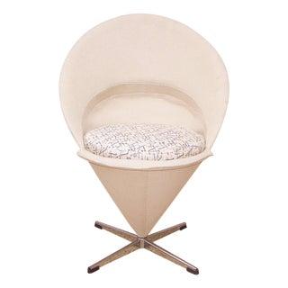 Mid-Century Verner Panton Cone Chair
