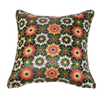 Moroccan Zellig Fabric Throw Pillow
