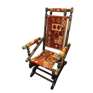 Vintage Platform Spring Rocking Chair