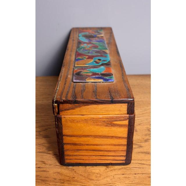 Late 1940s Elizabeth Bensley Wooden Box - Image 2 of 7