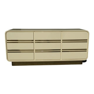 Mid-Century Modern Retro 50's Style Rounded Dresser