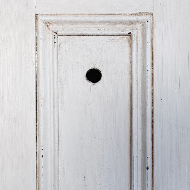 Antique White Distressed Schoolhouse Lockers - Image 9 of 11