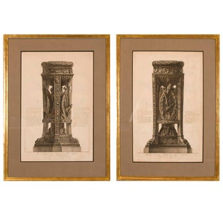 Copper Plate Engravings by Giovanni Battista Piranesi - A Pair
