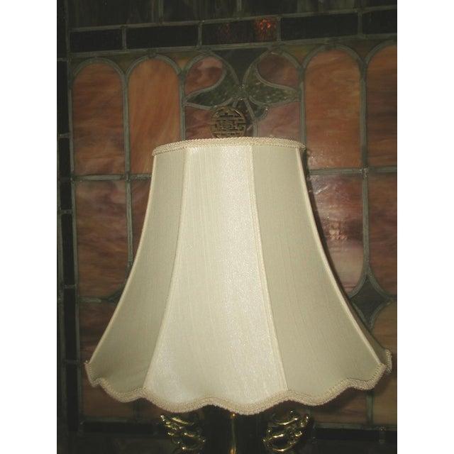 Brass Oriental Lamp Large, 3 Way Lighting - Image 4 of 9