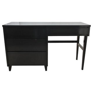 Black Stanley Furniture Desk