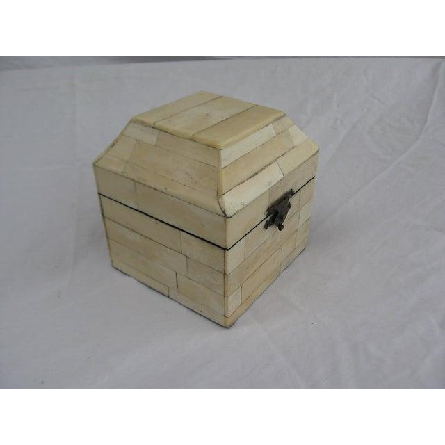 Chinese Bone Inlay Box - Image 4 of 9