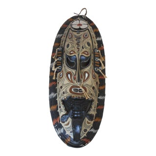 African Tribal Art Crocodile Mask