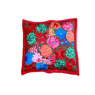 Embroidered Pillow Teotitlan IV