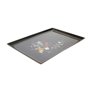 Couroc Black Coral Inlay Tray