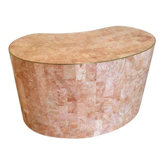 Mid-Century Pink Marble Table