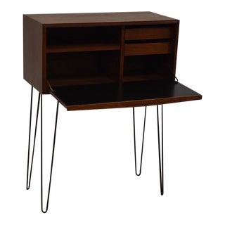 Walnut Modern Task Desk