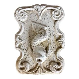 Cast Stone Fish Fountain