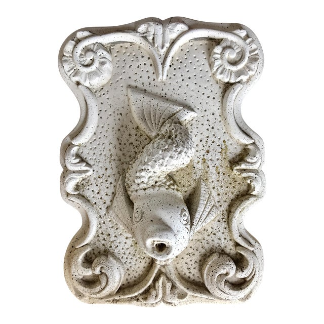 Cast Stone Fish Fountain - Image 1 of 3