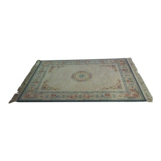 Karastan Machine Made Medallion Area Rug - 4' x 6'