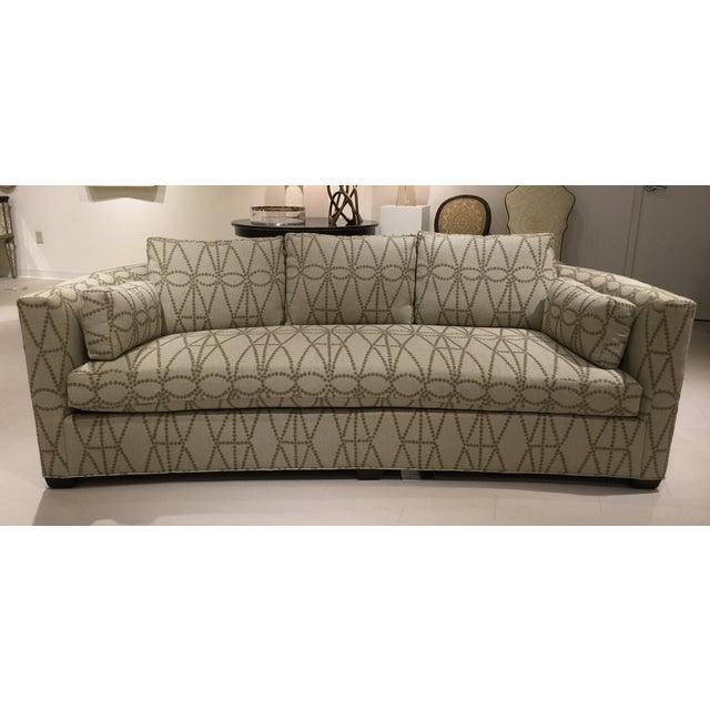 Curved Sofa Atlanta: Hickory Chair Thomas O'Brien Julien Curved Sofa