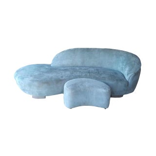 Vladimir Kagan Cloud Sofa & Ottoman