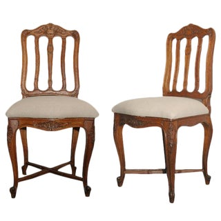 Side or Bedroom Chairs - A Pair