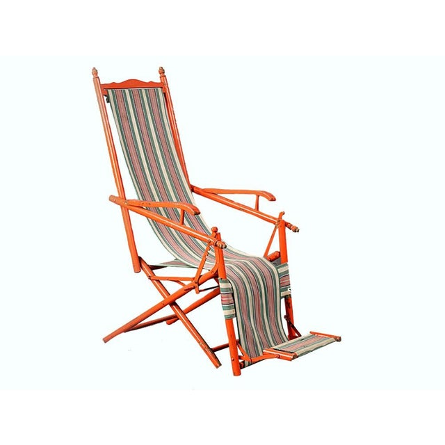 1940s French Outdoor Recliner - Image 2 of 5