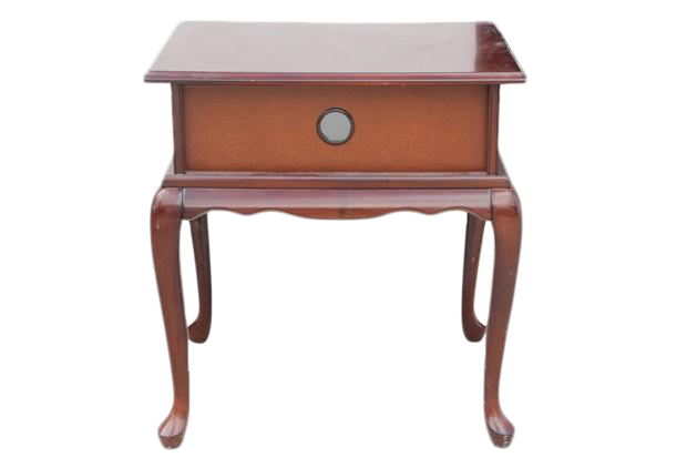 Elegant Queen Anne Style Side Table