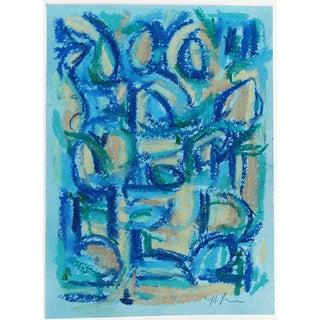 Female Blue IIIa Painting by Heidi Lanino
