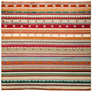 """Lori Hand Knotted Area Rug - 6'2"""" X 6'3"""""""