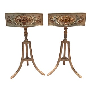 John Rosselli French Country Planters - A Pair