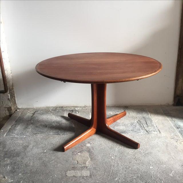 Mobler Teak Pedestal Dining Table - Image 2 of 8