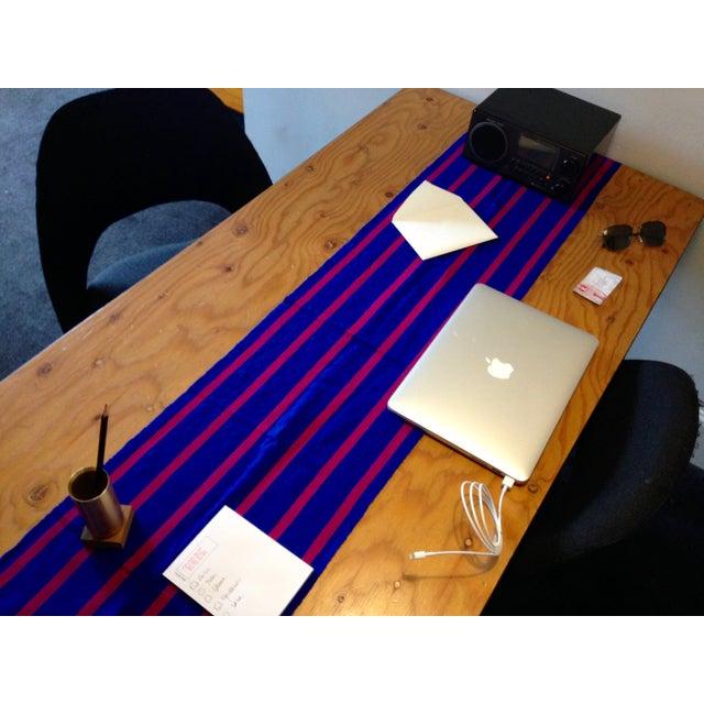 Chiapas Bluish Bed Runner or Table Top - Image 2 of 5