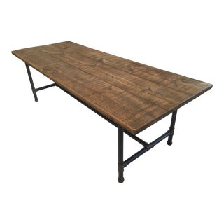 Steamer Reclaimed Pine Dining Table