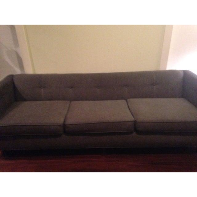 Mid-Century Black Sofa - Image 3 of 5