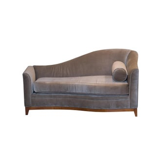 Chaise Lounge in Mohair