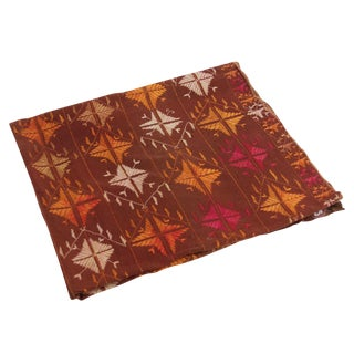 Gul Phulkari Embroidered Throw