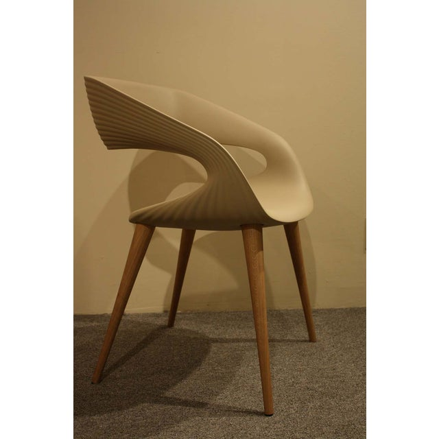 Image of Molded Oggetti Shape Armchairs - Pair - 8 Avail.