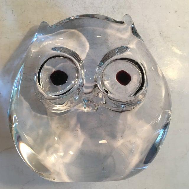 Vintage Art Glass Owl - Image 5 of 8