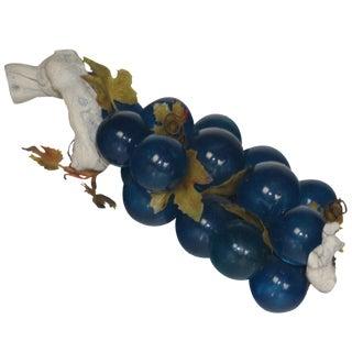 Italian Blue Grape Cluster
