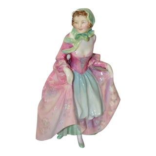 "Circa 1949 Royal Doulton ""Suzette"" Porcelain Figurine"
