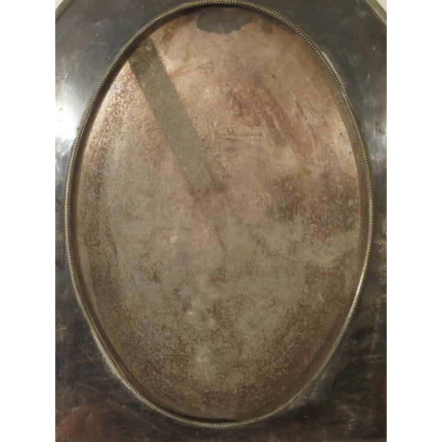 Large 19th Century Silverplate Picture Frame - Image 4 of 7