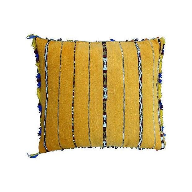Moroccan Berber Sham With Silk & Sequins - Image 2 of 2