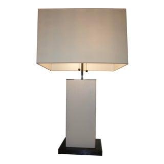 Dixon Parchment Leather Lamp
