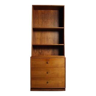 Drexel Walnut Dresser & Bookshelf