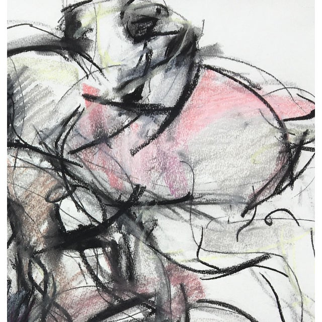 Polo Player #4 Abstract Drawing - Image 3 of 4
