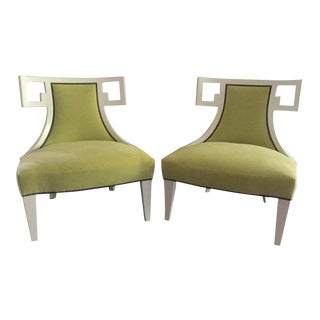 Susan Kotora for Baker Furniture Neo-Classical Chairs - A Pair