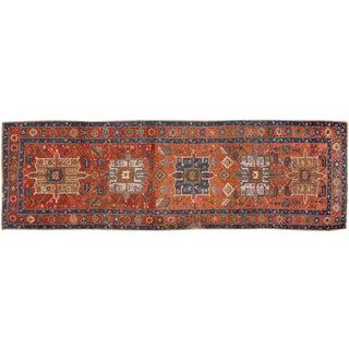 "Vintage Apadana Persian Rug - 3'4"" X 11'1"""