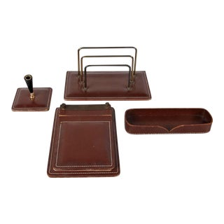 Jacques Adnet Attributed Office Set